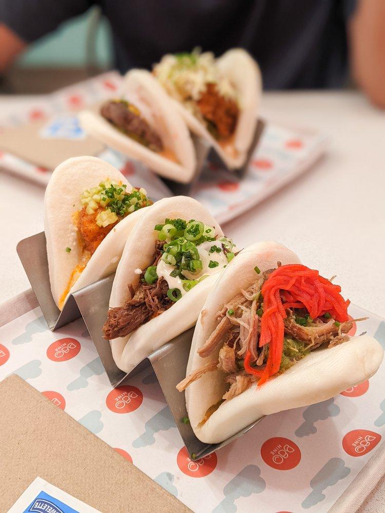 Food from Bao Nine