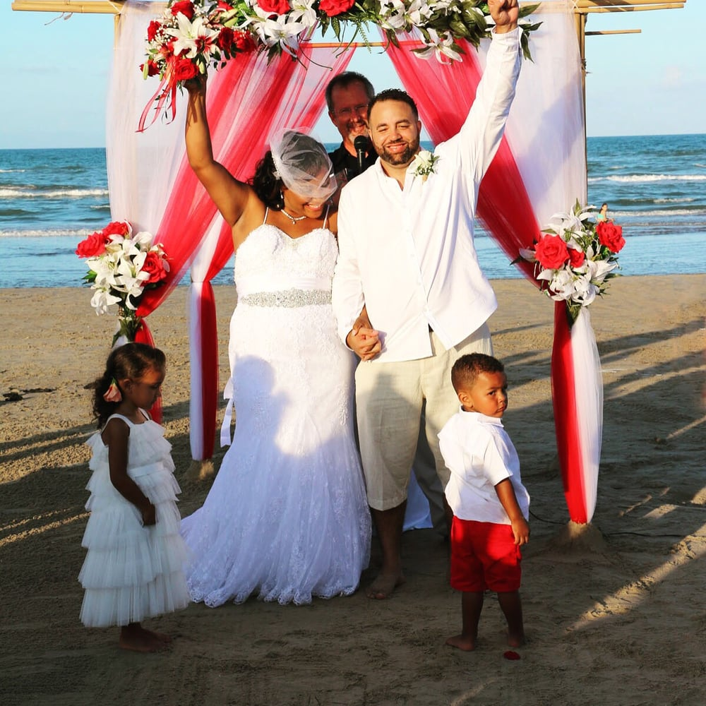South Padre Beach Ceremony: Port Isabel, TX