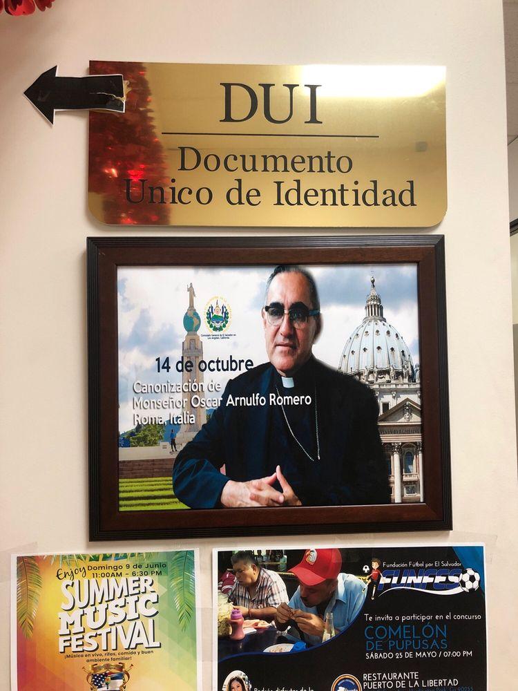 Consulate General of El Salvador in Los Angeles, California   3250 Wilshire Blvd. Suite # 550, Los Angeles, CA, 90010   +1 (213) 234-9200
