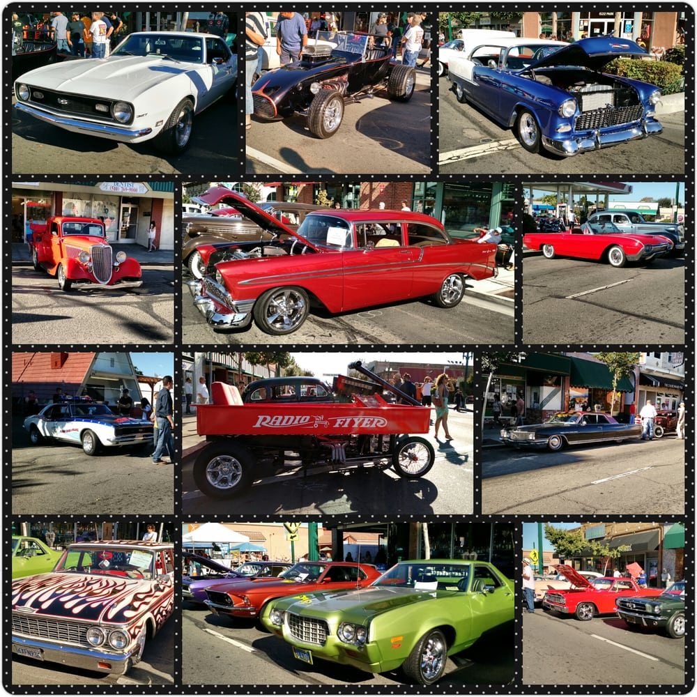 Park Street Classic Car Show