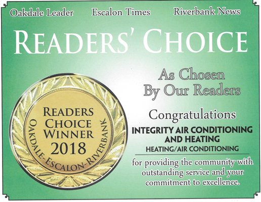 Integrity Air Conditioning and Heating Oakdale, CA Plumbing Heating