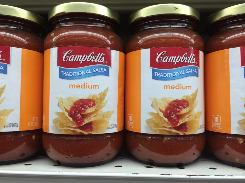 Campbell\'s salsa only at 99cent stores ;-) - Yelp