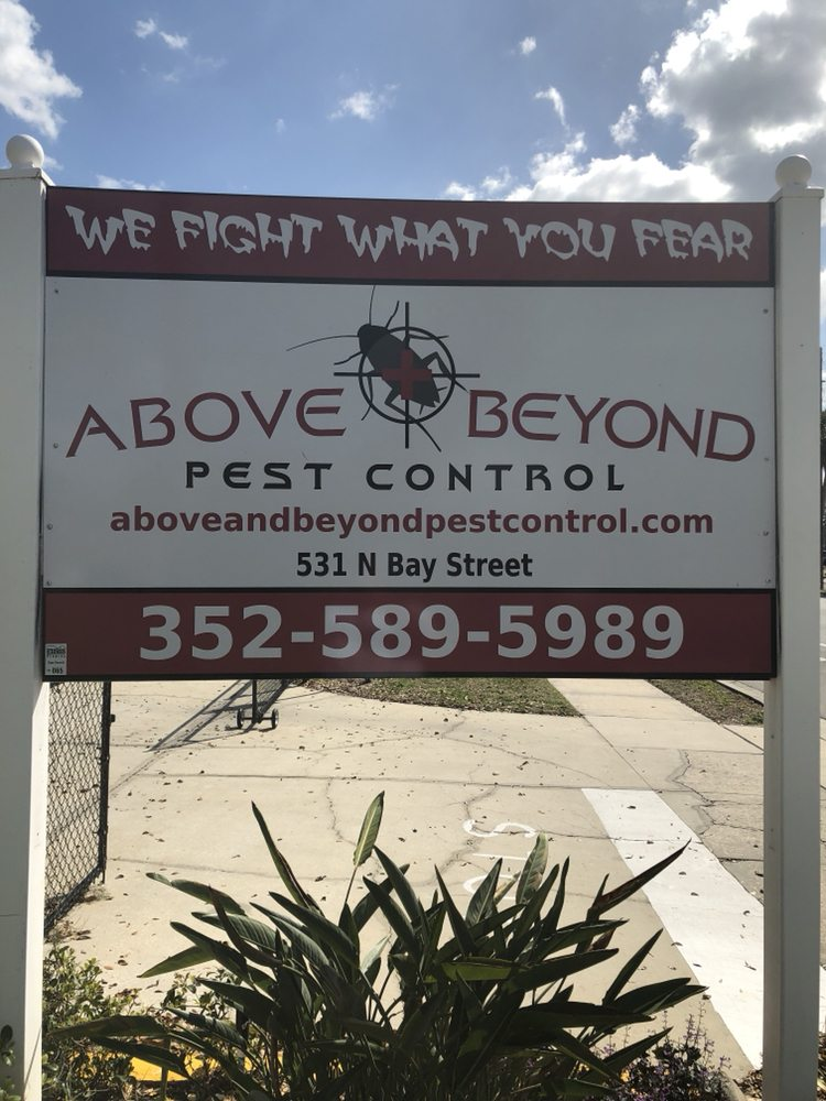 Above & Beyond Pest Control: 531 N Bay St, Eustis, FL