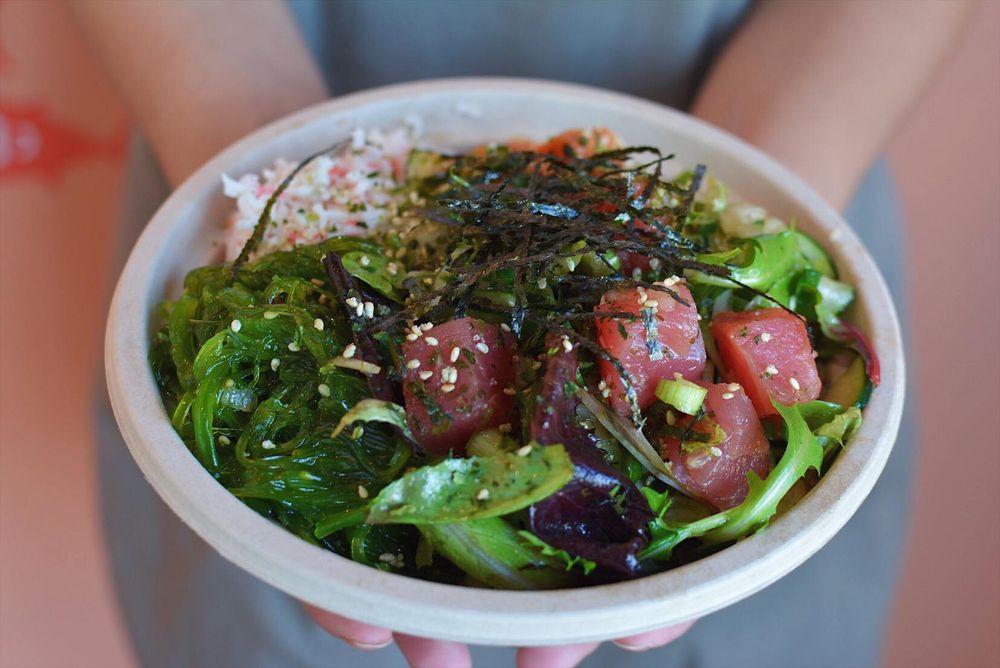 Ahi Tuna bowl