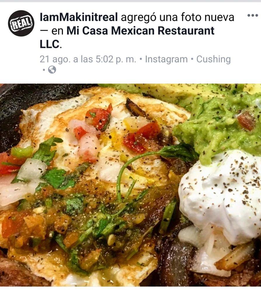 Mi Casa Mexican Restaurant: 211 N Cleveland Ave, Cushing, OK