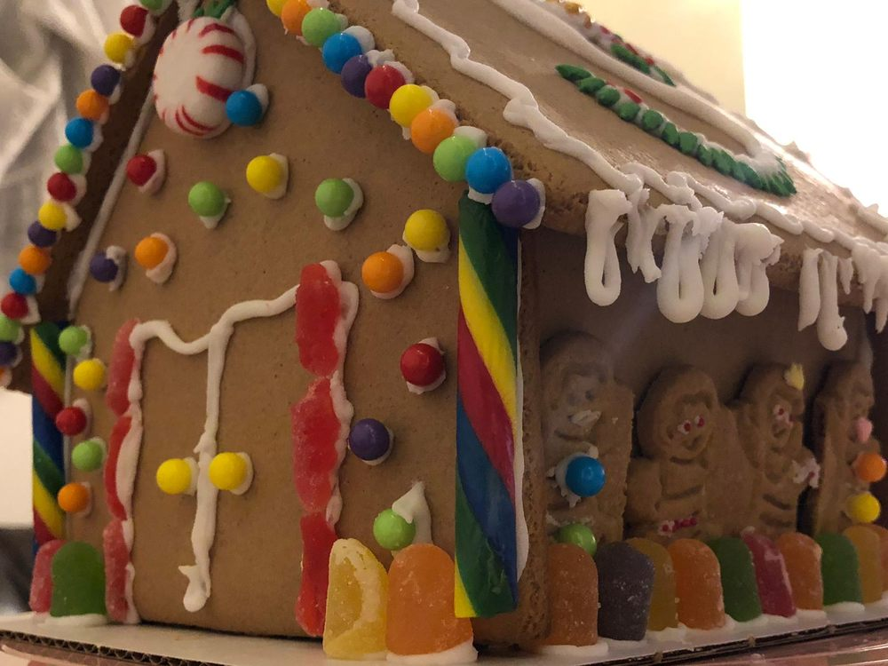 This Gingerbread House Is From The Michael S Kit Kinda Small But