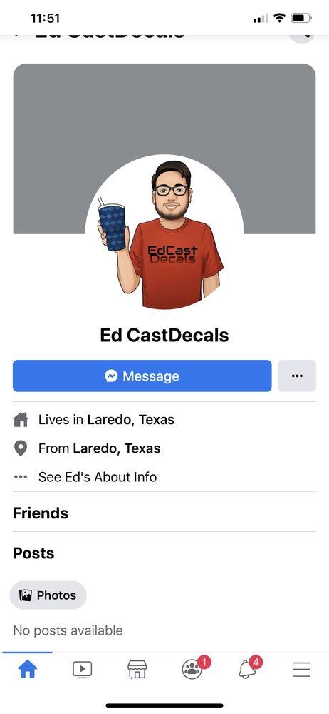 EdCastDecals: Laredo, TX