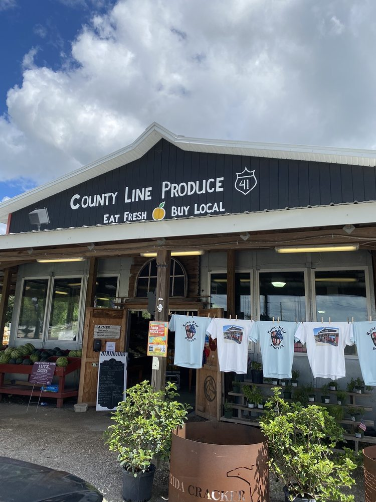 County Line Produce: 206 Newberger Rd, Lutz, FL