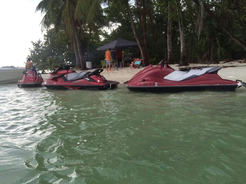 Oceans Flyboarding and Jet Ski Rental: 1099 Macarthur Cswy, Miami, FL