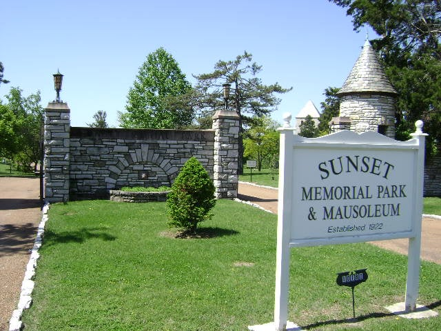 Sunset memorial park mausoleum funeral services Sunset memory garden funeral home