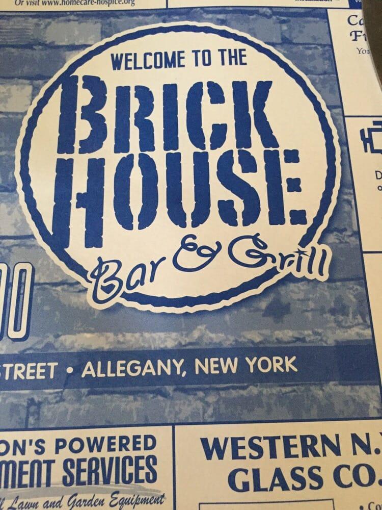 Brick House Bar and Grill: 181 W Main St, Allegany, NY