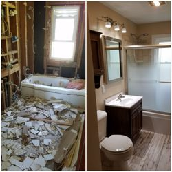 Freedom Builders Remodelers Contractors Milford Ave - Bathroom remodeling rockford il