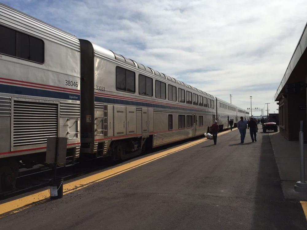 Amtrak: 1st & Colorado Ave, La Junta, CO