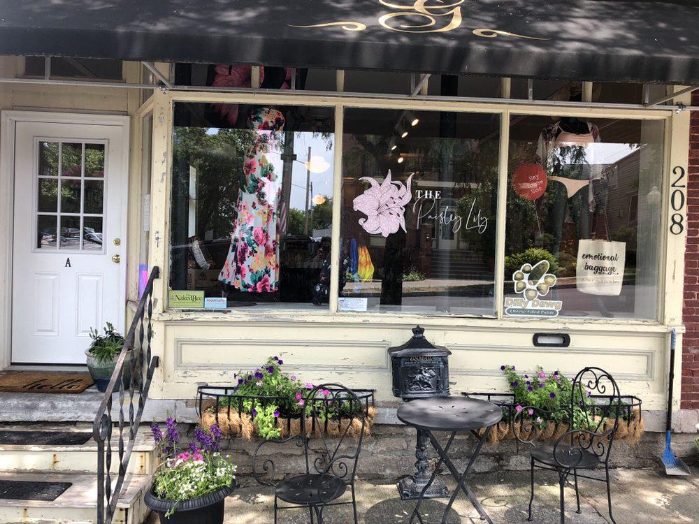 The Paisley Lily Boutique: 208 W Main St, Sackets Harbor, NY
