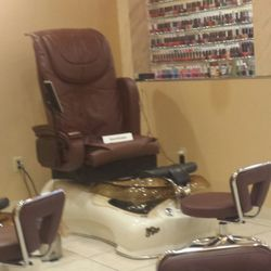 Photo Of Best Nails   Springfield, OH, United States. Pedicure Chairs Are  Great
