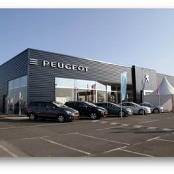Concession Peugeot Scap Car Dealers Poitiers Vienne