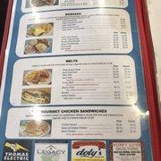 Menu Page Photo Of Riverside Family Restaurant 2 Oskaloosa Ia United States