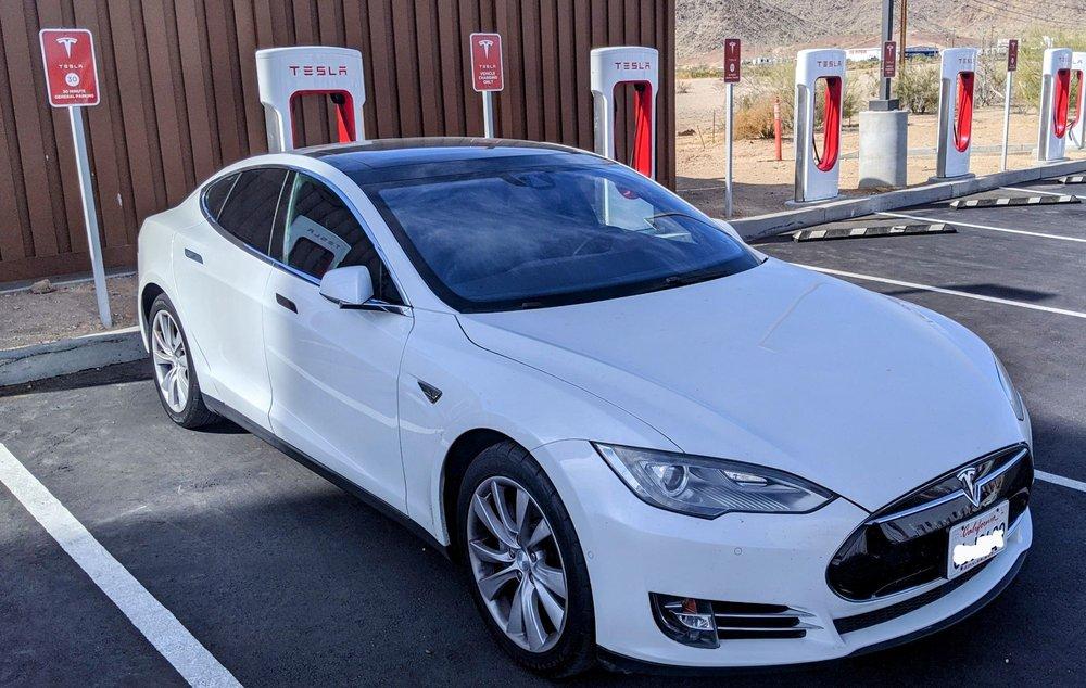 Tesla Supercharger Quartzsite: 1451 W Main St, Quartzsite, AZ