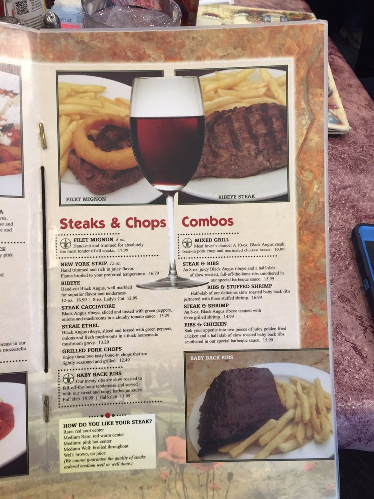 Tuscany Grill: 1500 W Locust Ln, Robinson, IL