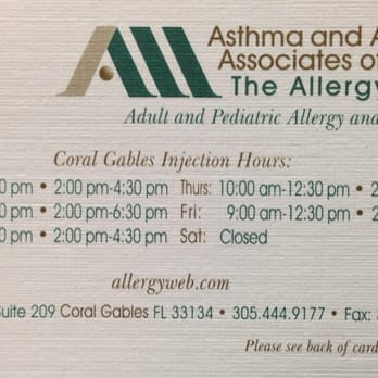 Asthma and allergy associates of florida allergists 475 biltmore photo of asthma and allergy associates of florida coral gables fl united states reheart Image collections