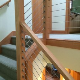 Photo Of Portland Stair Company   Portland, OR, United States. Cable  Railing U0026