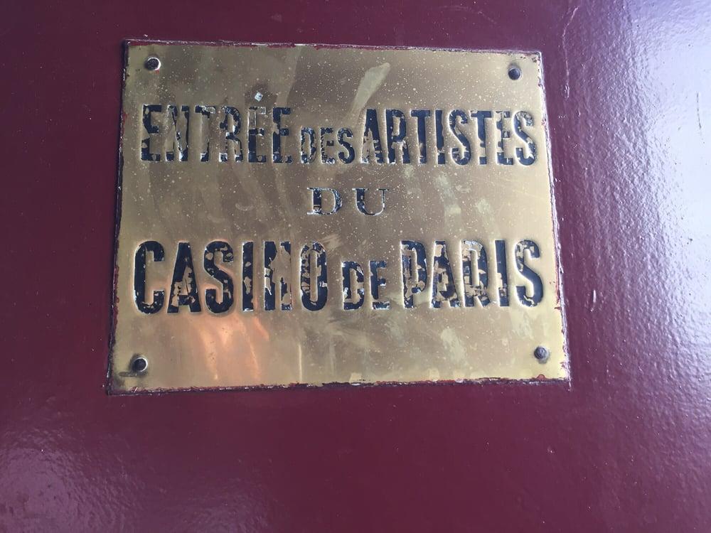 Hotel casino paris rue clichy