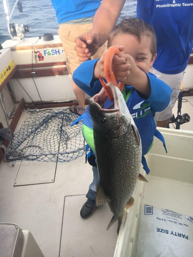 Rockin And Reelin Sportfishing Charters: 1080 North Huron St, Cheboygan, MI