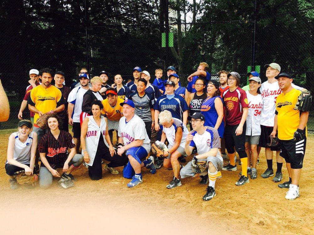 Central Park Softball/Baseball Fields: New York, NY