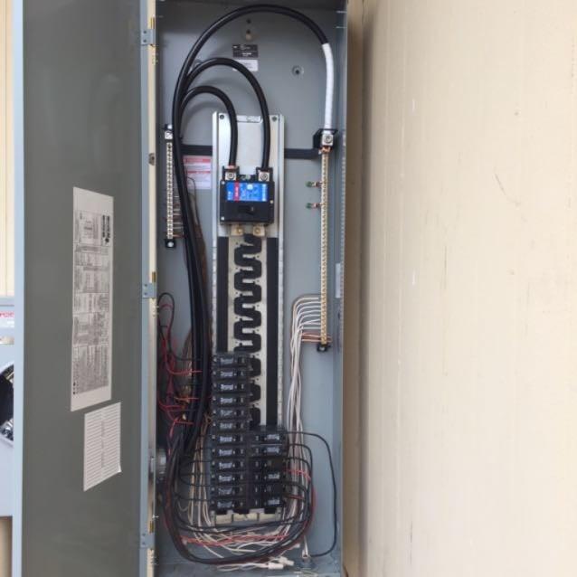 eaton solar ready panel 200 amp main breaker with 225 amp