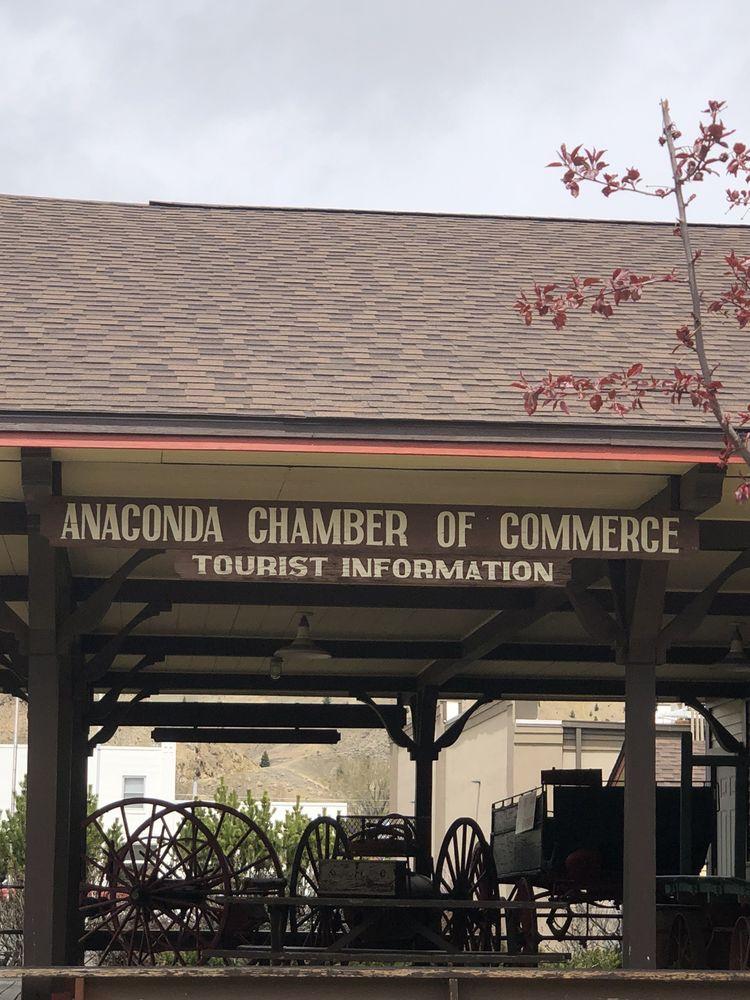 Chamber of Commerce: 306 E Park Ave, Anaconda, MT