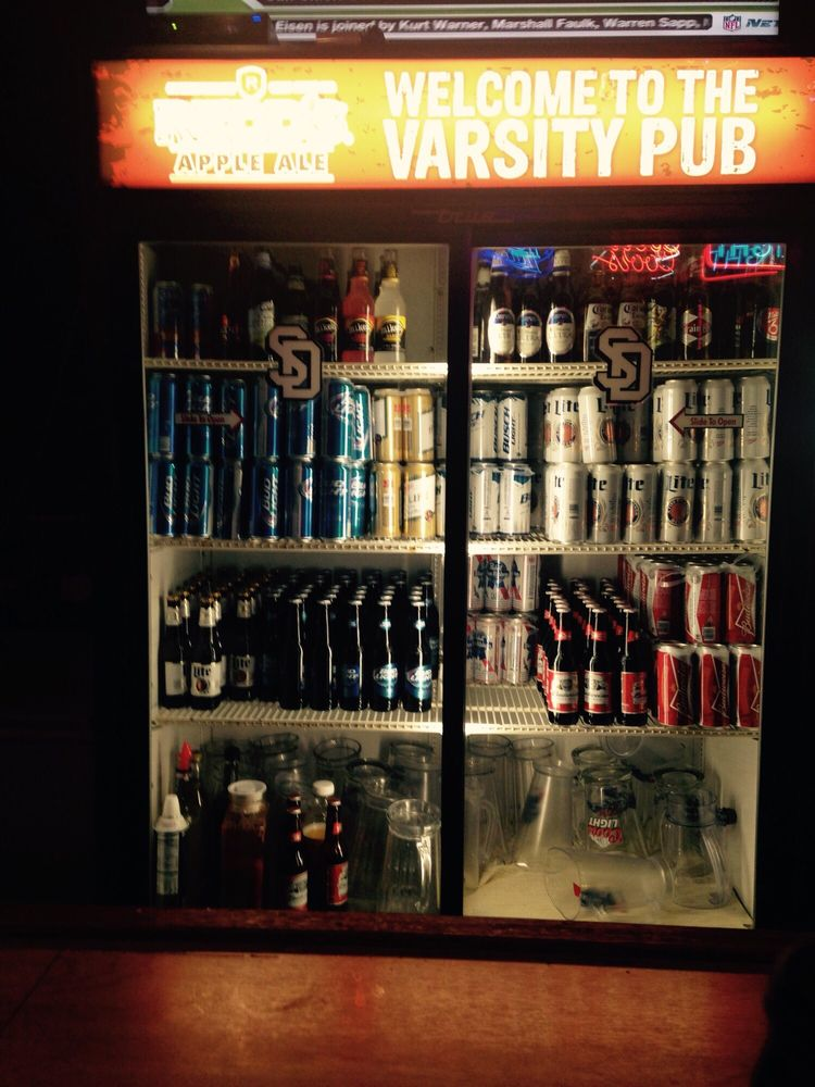 Varsity Pub: 113 E Main St, Vermillion, SD
