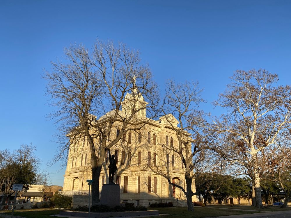 Milam County Court House: 102 S Fannin Ave, Cameron, TX