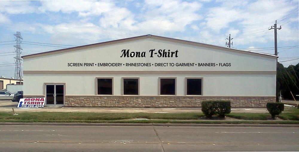 Mona t shirt enterprise screen printing t shirt printing for T shirt printing houston