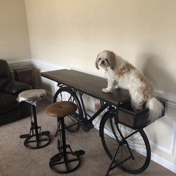 Photo Of Furniture Row Charlotte Nc United States Bicycle Table And 2
