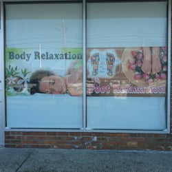 Photo of Foot Relaxing Station - Selden, NY, United States. Sign, use