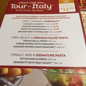 Olive Garden Italian Restaurant Burbank Ca