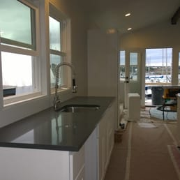 Houseboat Kitchen Cabinets Quartz Counter And Sink From Pius Yelp