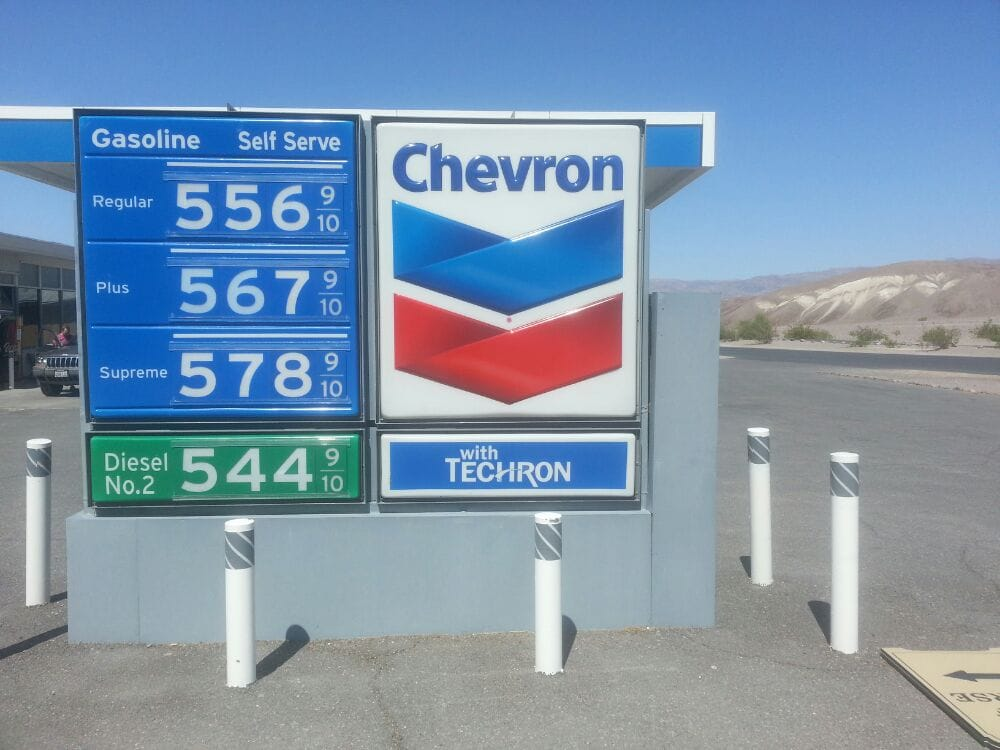 Diesel Gas Stations Near Me >> Furnace Creek Chevron Station - 11 Reviews - Gas Stations - Hwy 190, Death Valley, CA, United ...