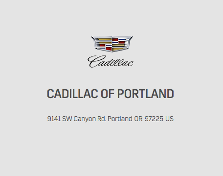 Cadillac Of Portland >> Cadillac Of Portland 12 Reviews Car Dealers 9141 Sw Canyon Rd