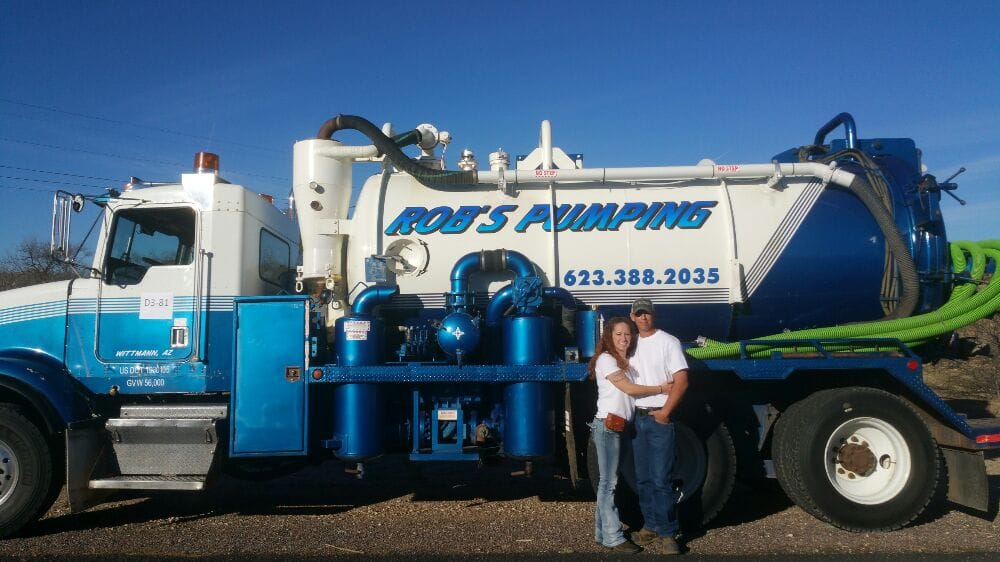 Rob's Pumping: 21751 W Wilson Ave, Wittmann, AZ