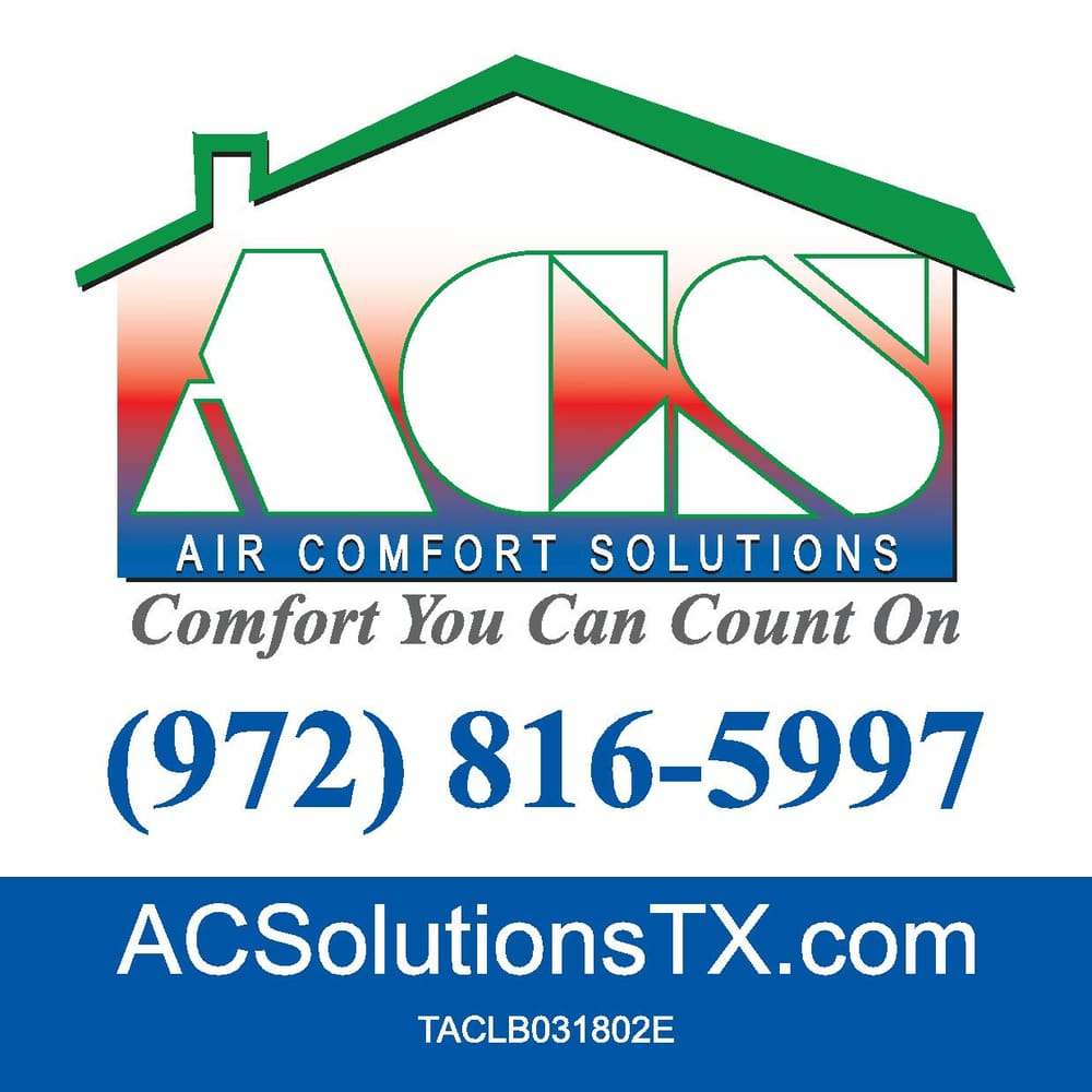Air Comfort Solutions: Van Alstyne, TX