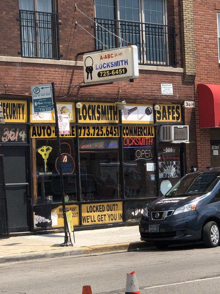 A-Abc 24 Hr. Locksmith, Inc.: 3614 W North Ave, Chicago, IL