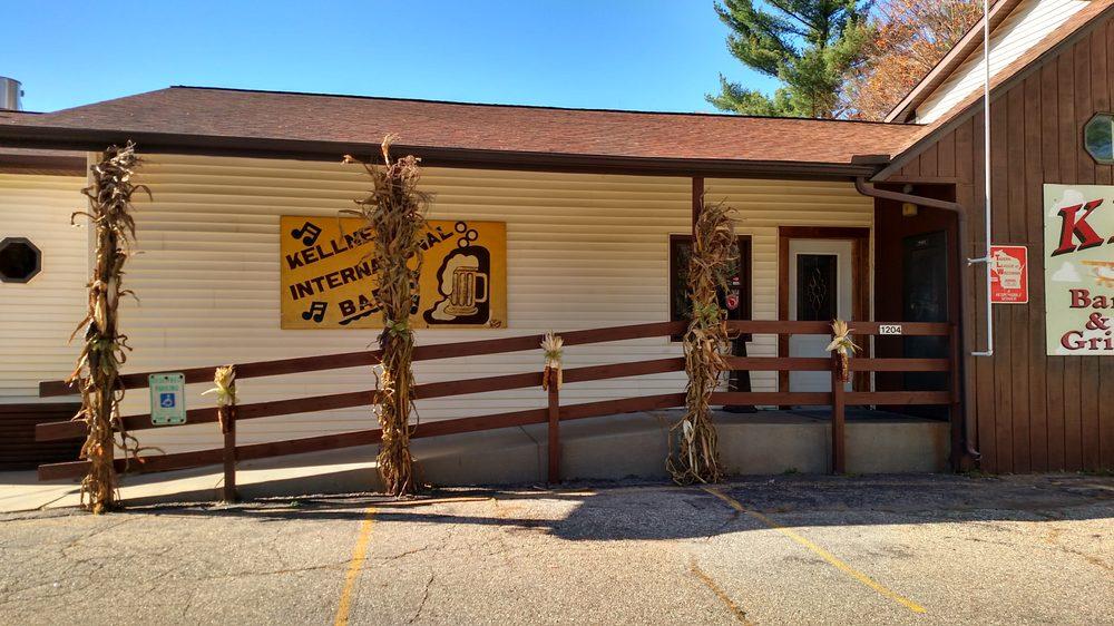 Kellner International Bar: 1204 80th St S, Wisconsin Rapids, WI