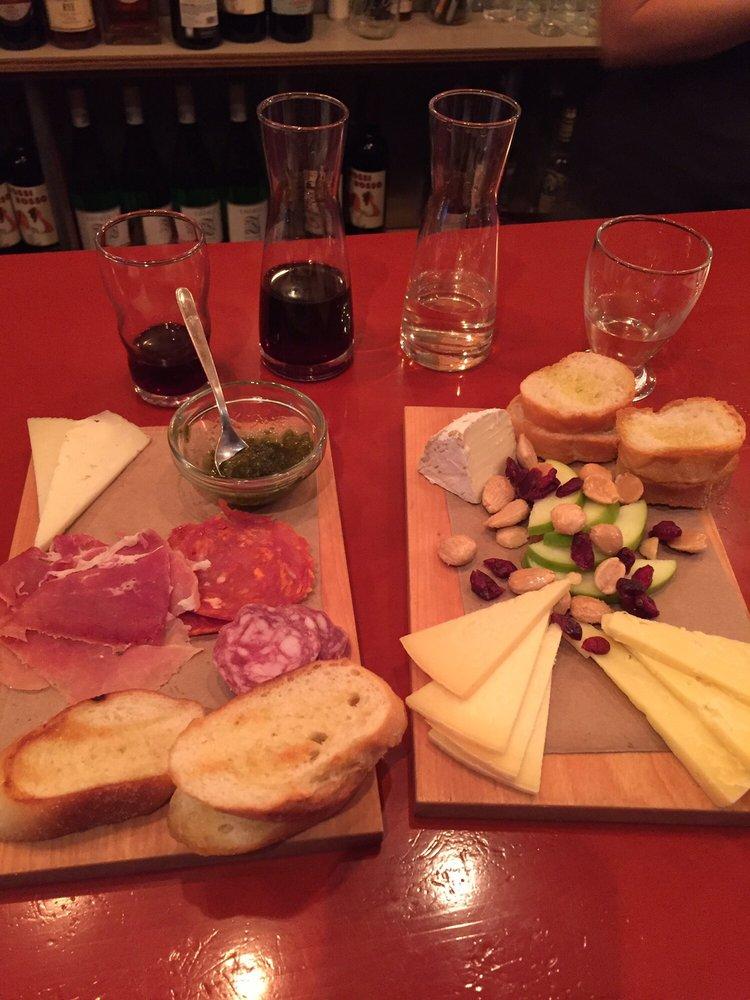 Food from Jar'd Wine Pub