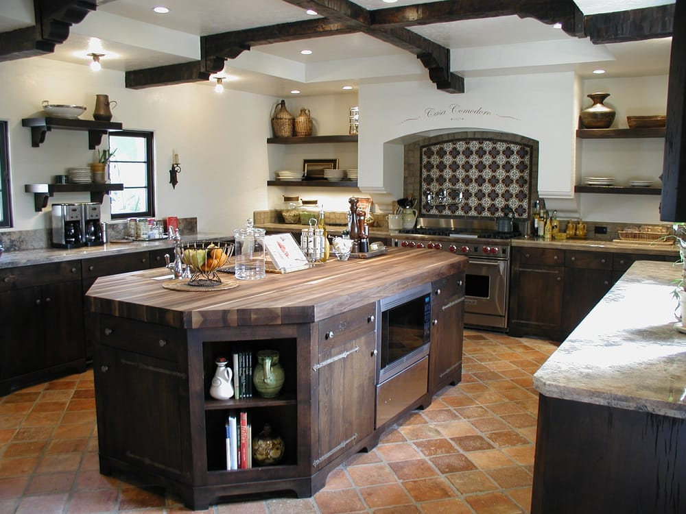 Early california style kitchen in rustic alder yelp for California style kitchen