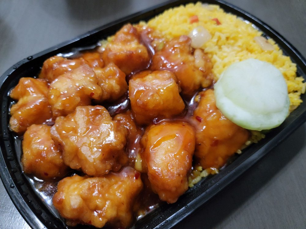 Asian Grill: 122 E Columbus Rd, South Charleston, OH