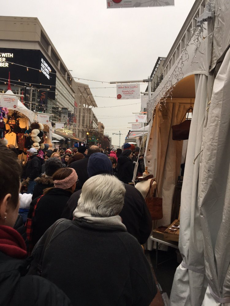 Downtown Holiday Market: F Street between 7th and 9th NW, Washington, DC, DC