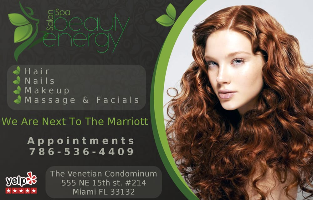 Beauty Energy Salon & Spa: 555 NE 15th St, Miami, FL