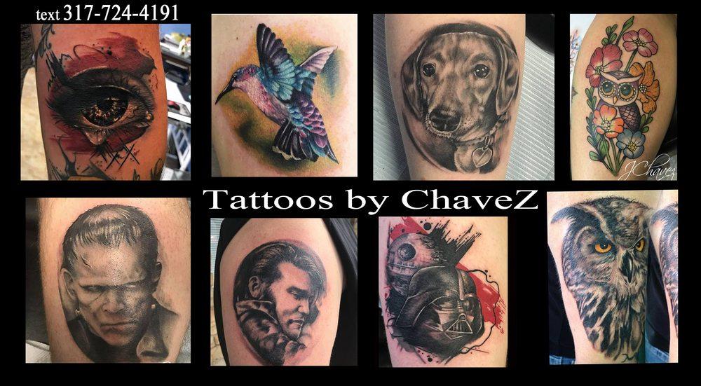 SketcherZ Tattoo Co: 241 US31, New Whiteland, IN