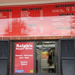 Photo Of Ralph S Burger House Chiefland Fl United States Menu And Hours